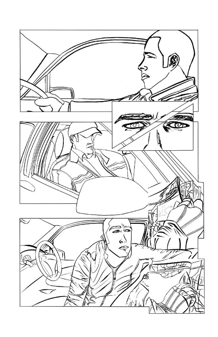 Inks I completed for a page from the upcoming #purebloodlines comic book series. Catch us at this year's #Film & Comic Con Cardiff [March 21st-22nd] for a meet and greet with the artist, writers and... :)   Copyright - geraldhorler  A sneak peak at the upcoming Pure Bloodlines Graphic Novel. See the official blog at... geraldhorler.tumblr.com #purebloodlines #Comics #comicbooks #vampires #fantasy #supernatural #upandcoming