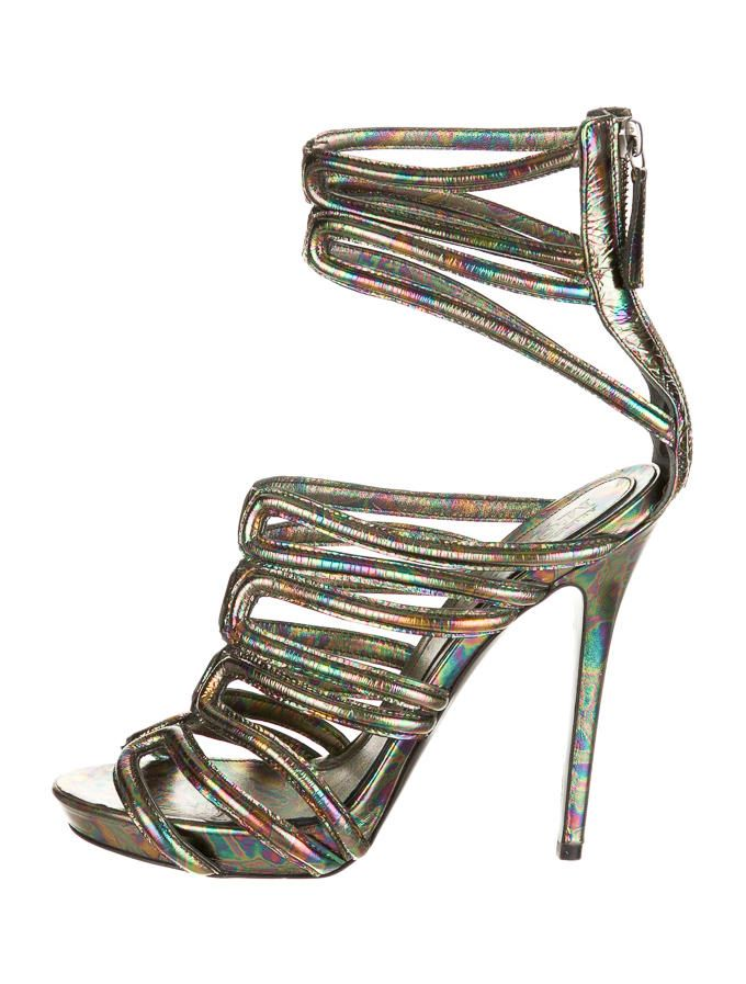 Alexander McQueen Sandals - Shoes - ALE20923 | The RealReal