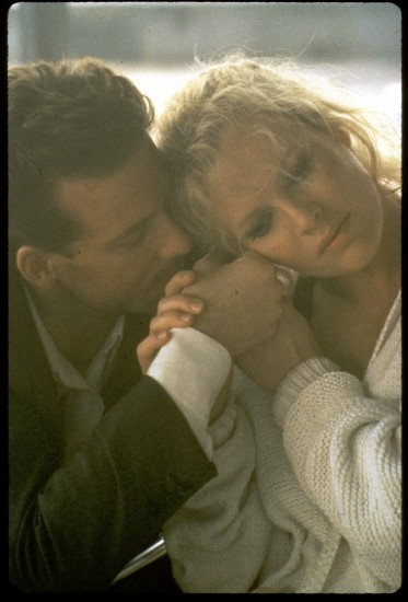 Mickey Rourke & Kim Basinger in '9 and 1/2 weeks'... He was the first Christian Grey. Those two had such chemistry.