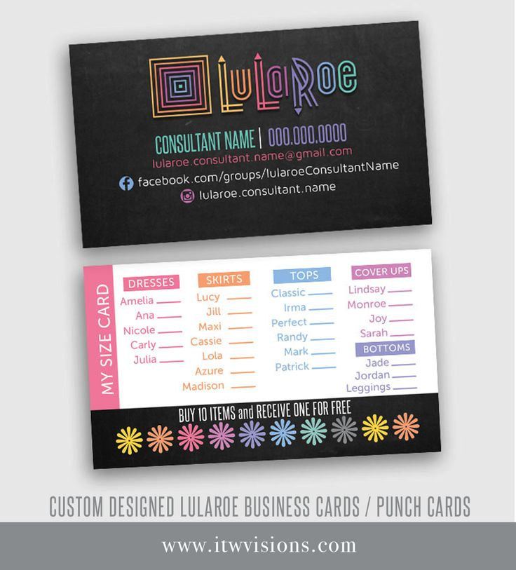 Best 25+ Lularoe business cards ideas on Pinterest | Lularoe ...