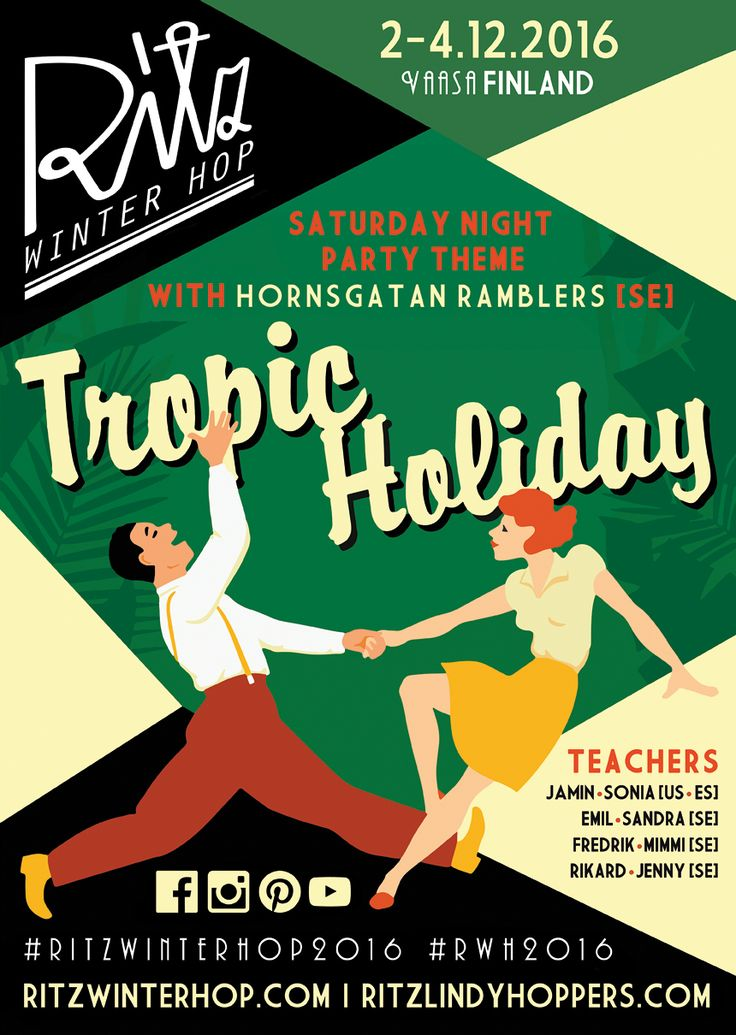 Get ready for Ritz Winter Hop 2016 - hope to see you there! #ritzwinterhop2016 #rwh2016 #ritzlindyhoppers