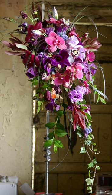 This would be Mine....Waterfall of Color in Purples, Lavenders and Pinks....