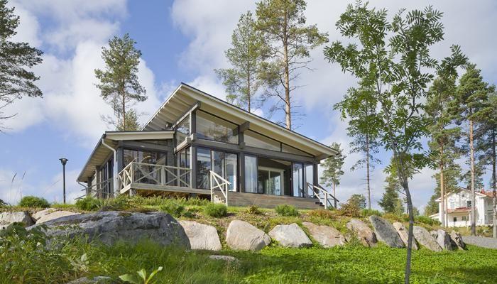 Honka Kippari holiday home. Honka log homes.