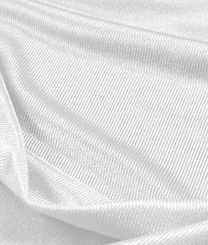 White Nylon Tricot Fabric available from OnlineFabricStore.com