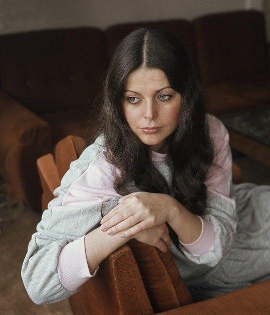 Andrea na portrétu ze začátku osmdesátých let