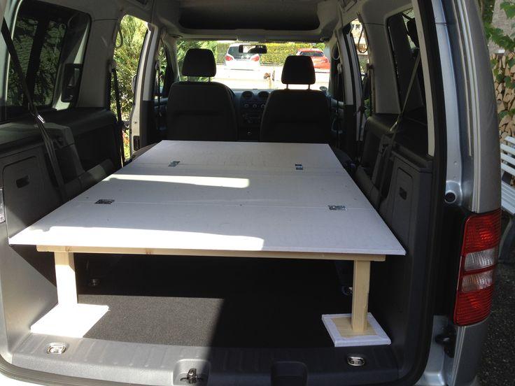 VW Caddy Maxi CamperVan SleeperVan Bett