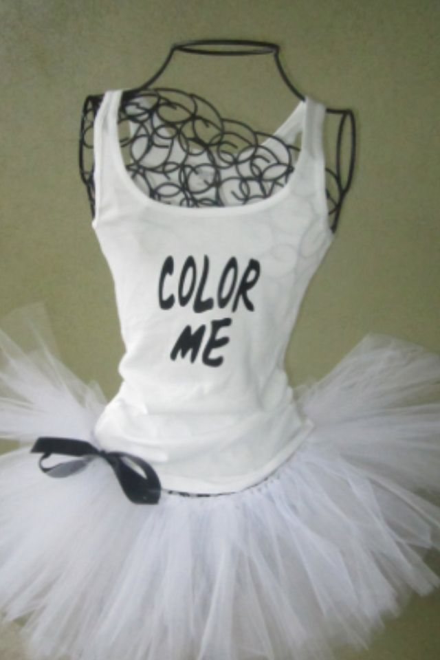 Making this for Color Me Rad 5K. #Rad it's not a race or about how fast you go! It's about your colours in the end