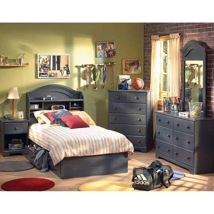 South Shore Logik 4 Piece Pure White Twin Kids Bedroom Set: 25+ Best Bookcase Bed Ideas On Pinterest