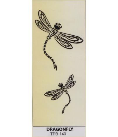 Tribal tattoo   temporary   Dragonfly