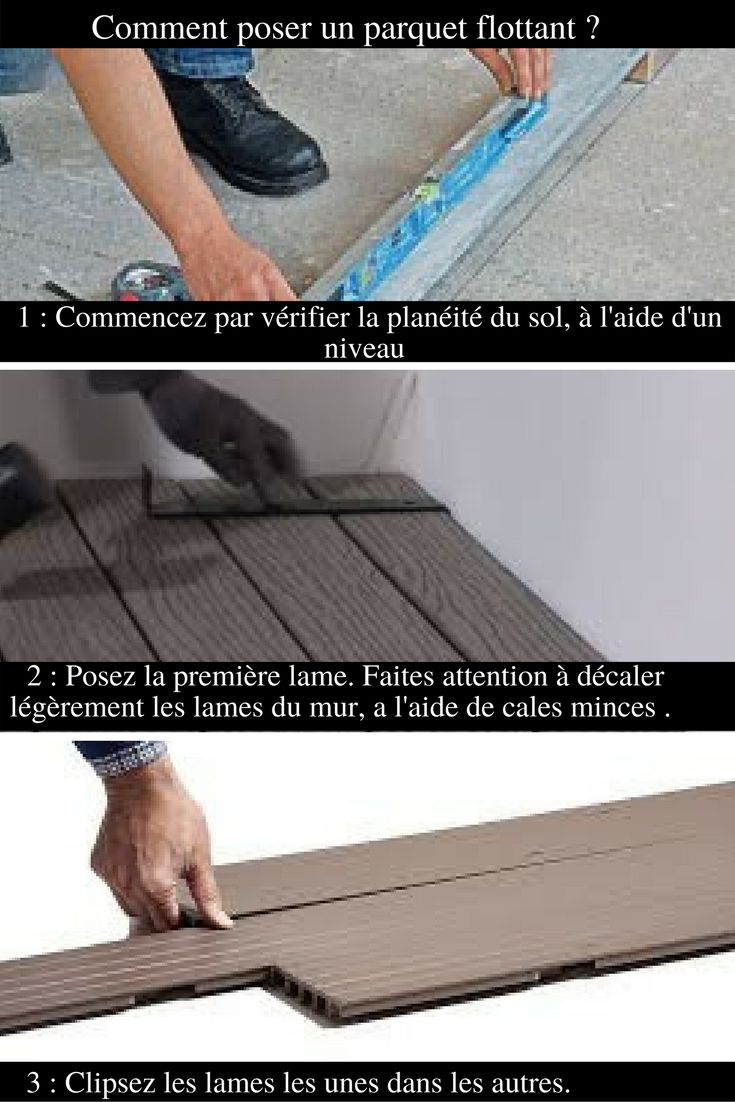 les 10 meilleures id es de la cat gorie parquet flottant. Black Bedroom Furniture Sets. Home Design Ideas