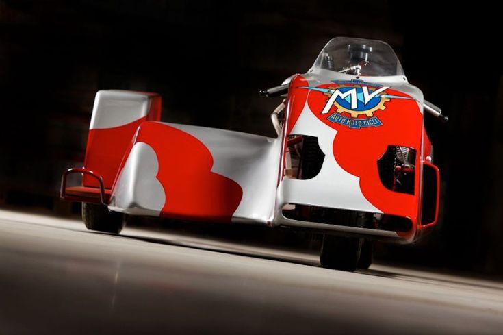 MV 750 Side Car Racer