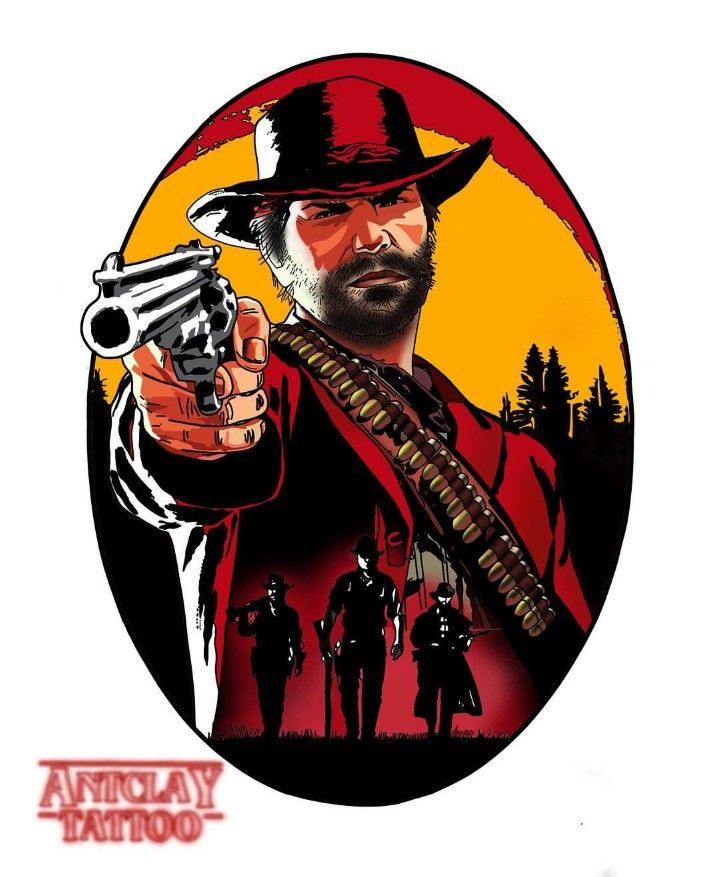 Red Dead Redemption 2, Tattoo Design | Tattoos | Red dead