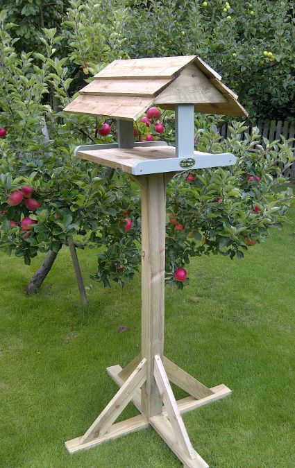 quality hand made bird table by harrogate bird tables