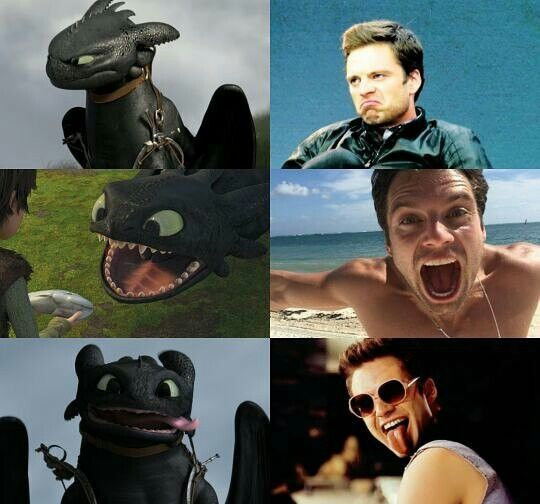 The resemblance is uncanny.<<< They are also some people in the movies they're in want their character dead and their both super cute!!!