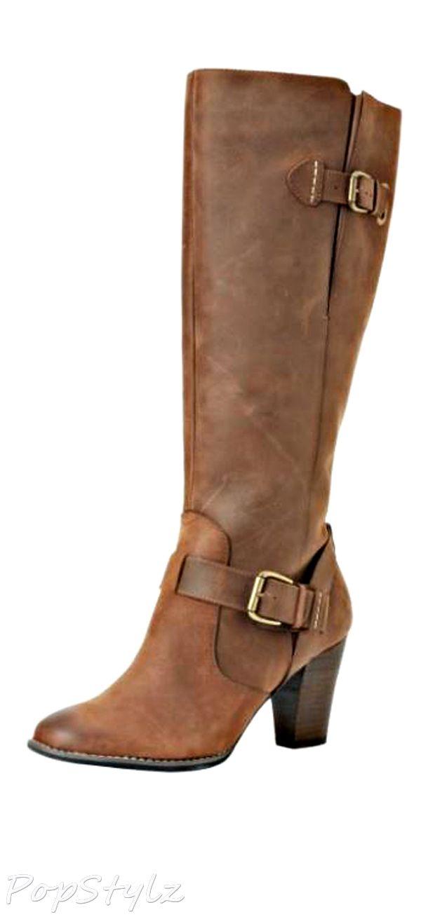 Leather Indigo Heath Skylark Knee-High Boot