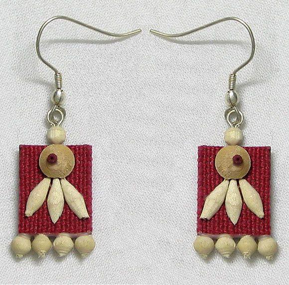 Jute earrings