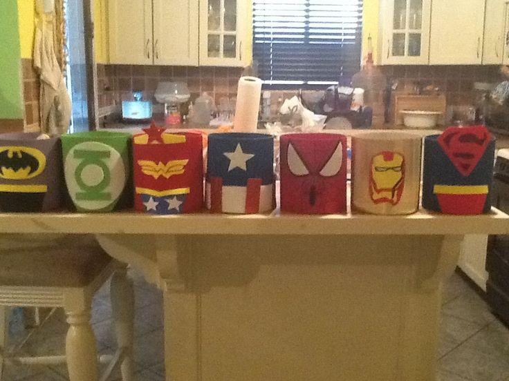 Bolsitas de super héroes