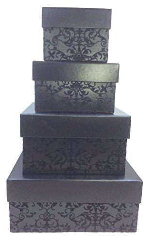 Charming Sophisticated And Cute Large Decorative Gift Boxes