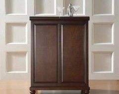 LaFayette Expandable Bar Cabinet - contemporary - bar carts - by Shop Chimney