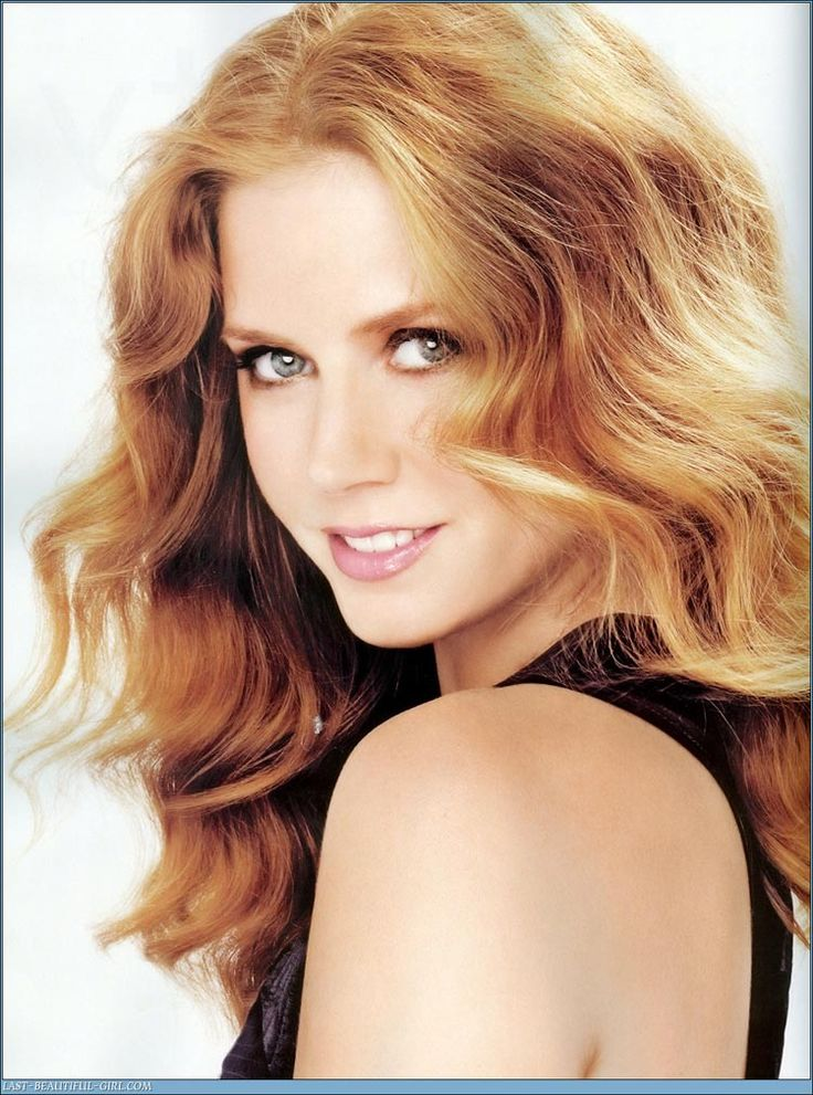 Strawberry Blonde Hair Color- Amy Adams | hair Colour box | Pinterest