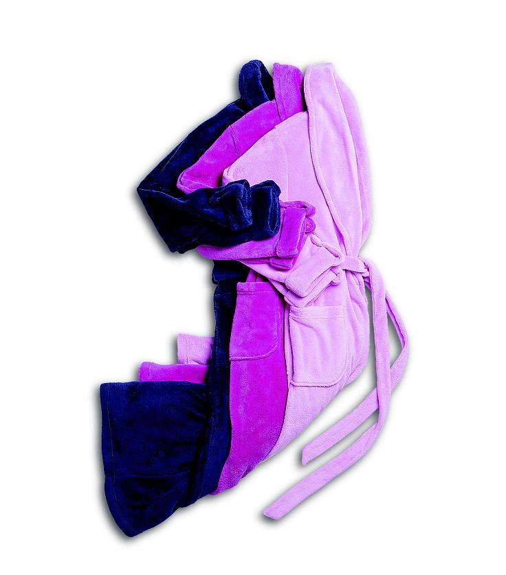 Shelley: Fleece (purple, cerise and pink)