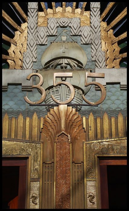 Marine Building, Vancouver. - I love this building. The inside is unbelieveable.