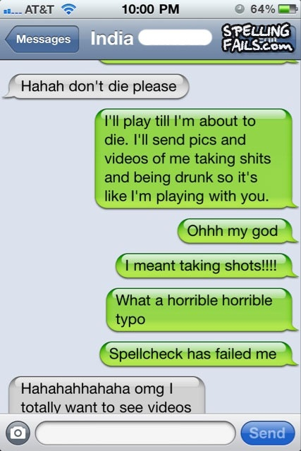 LOL: Funny Texts, Iphone Laughs, Iphone Fails, Spelling Rules