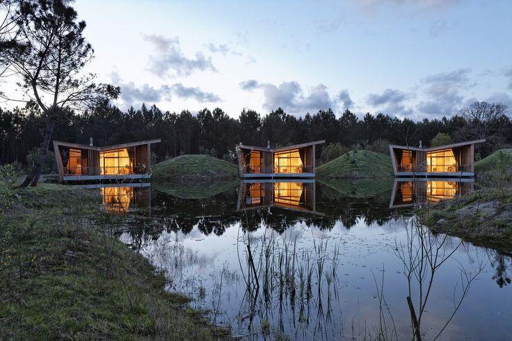 Gallery of Eco-lodges_les Echasses / Patrick Arotcharen Architecte - 6