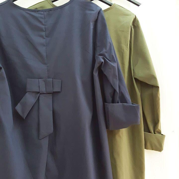 #camicia #cotone  #fiocco # dietro #blu #bianco #verde #valeria #abbigliamento