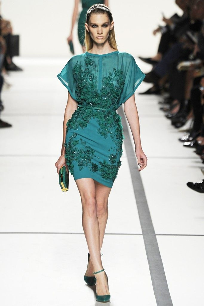 Elie Saab RTW Spring 2014 [Photo by Giovanni Giannoni]