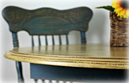 painting laminate veneer french country table