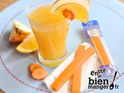 Smoothie Pommes, Orange et Carottes