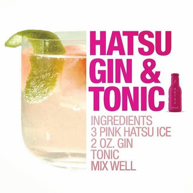 Hatsu Gin & Tonic