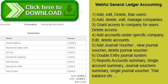 [ThemeForest]Free nulled download PHP General Ledger Accounting from http://zippyfile.download/f.php?id=50850 Tags: ecommerce, accounting, double entry general ledger, double entry php system, double entry system, General ledger, php accounting, PHP general ledger