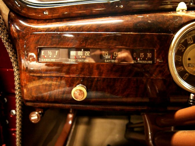 1947 chevrolet business coupe faux painted wood grain car paint burl dashboard interior trim. Black Bedroom Furniture Sets. Home Design Ideas