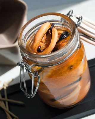 migas y gachas: Mejillones en escabeche #recetas #gastronomia