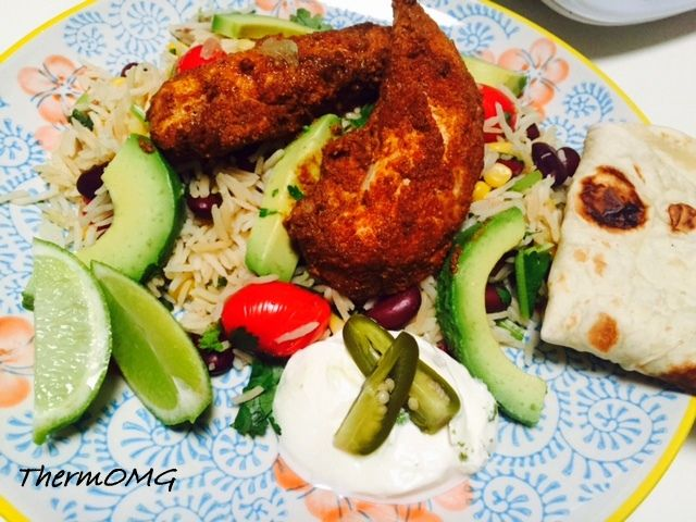 All in One Mexican Chicken and Rice — ThermOMG