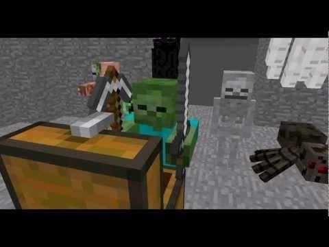 Monster School: Combat - Minecraft Animation - YouTube