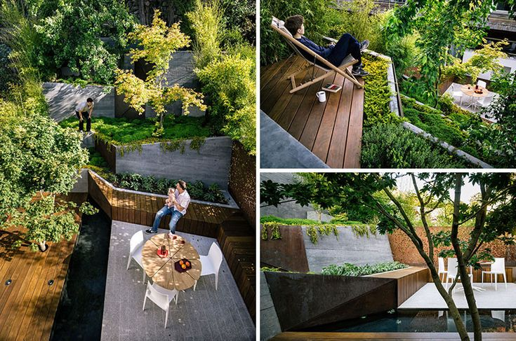The Backyard Of This California Home Was Turned Into A Cascading Garden