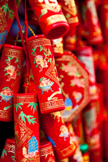 chinese new year decoratitons - fire crackers &&&&&......http://es.pinterest.com/stjamesinfirm/ancient-cultures-asia-kimono-hanfu-cheongsam-qipao/