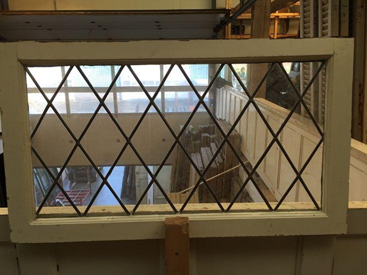 nr. gl146 blank glas in lood raam