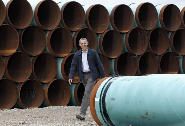 State Department To Delay Keystone XL Pipeline Decision Until After November - What is so difficult about this, the U.S. doesn't benefit by getting this oil, lower gas prices or permanent jobs.  This is a no-brainer.  NO TO KEYSTONE!