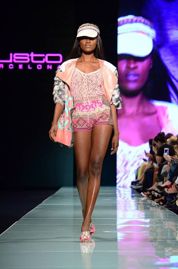 Custo Barcelona at Miami Fashion Week 2014