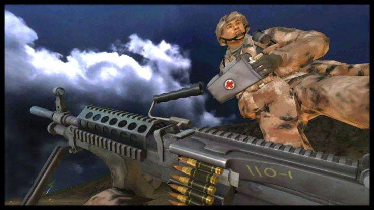 Night Battle of Wake Island - Battlefield 2 - Gameplay on PC - Best BF2 ...