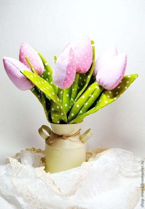 Букет тюльпанов Тюльпаны Тильда