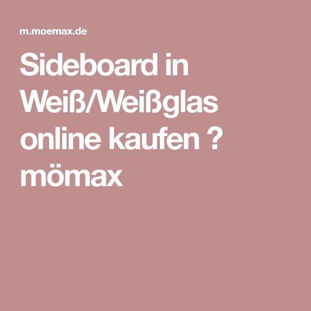 Sideboard in Weiß/Weißglas online kaufen ➤ mömax