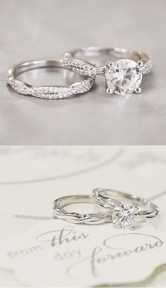 diamond rings engagement non unusual fashion beautiful traditional accessories beverleyk alternative tips stoneless unique and