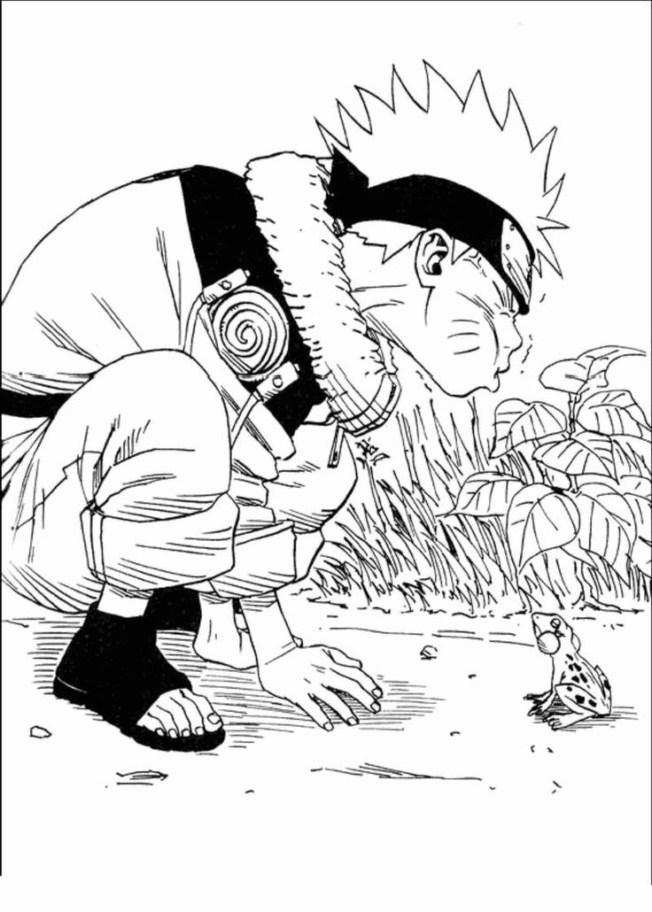 Have Fun With These Naruto Coloring Pages Ideas Dessin