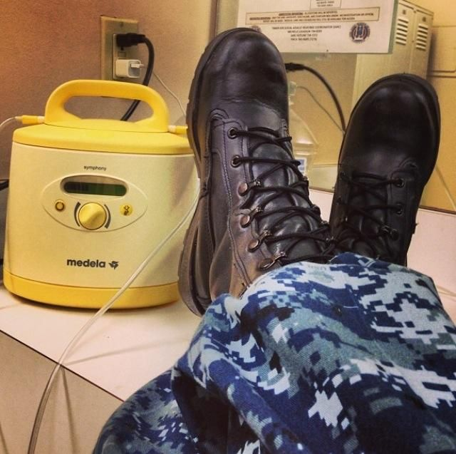 Great article by Robyn Roche-Paull, BSN, RN, IBCLC (Lactation Consultant) who breastfeed all 3 of her children while on active duty in the US Navy!  Hypnobabies® - Natural Childbirth at its best!  www.Hypnobabies.com