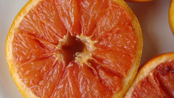 BROILED GRAPEFRUIT -- At one time, this was a common appetizer. -- This recipe was submitted to the cookbook by Naomi West of Plantation, Florida.